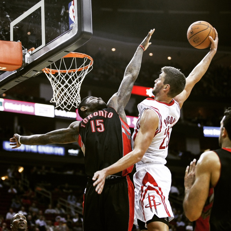 Nov 11, 2013; Houston, TX, USA; [CAPTION] at Toyota Center. Mandatory Credit: Andrew Richardson-USA TODAY Sports