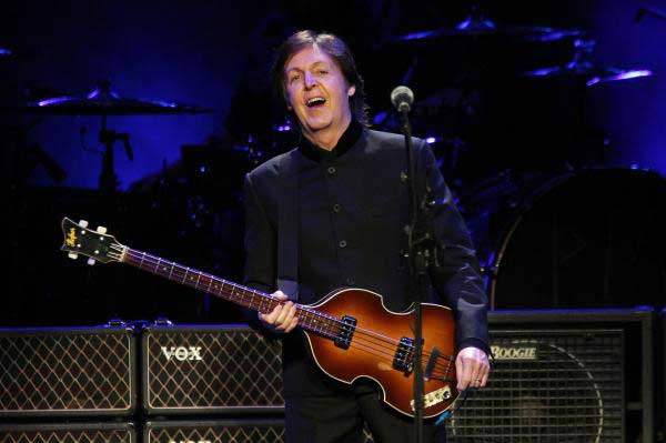 Paul McCartney Opened His 2016 One On Tour In Fresno Calif Debuting A New Set List That Included Handful Of Songs Being Performed Live For The