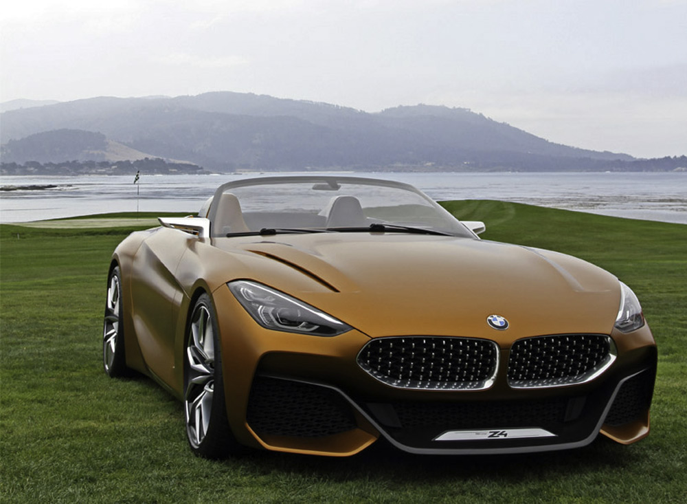 Concours D Elegance >> BMW 8 Series and Z4 concept - Pigs Fly Newspaper